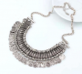 Turkish Coin Gypsy Glam Zarah Necklace