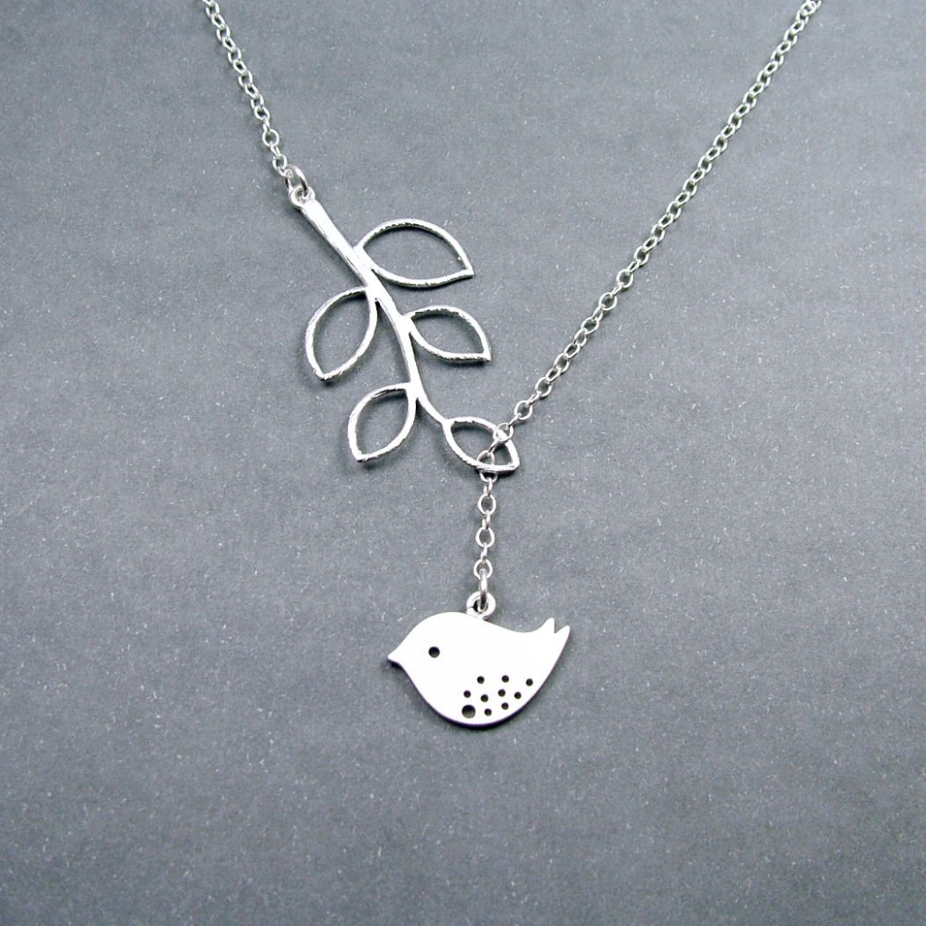 Free to Fly Silver Necklace