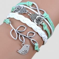 Infinite Love: Free & Wise Charm Bracelet