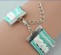 Infinite Love owl charm multi layer bracelet
