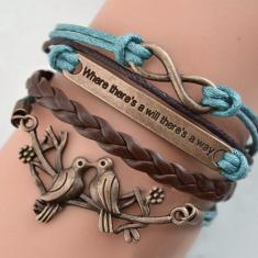 Infinite Love: Perseverance Charm Bracelet