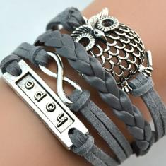 Infinite Love: Infinite Hope Charm Bracelet