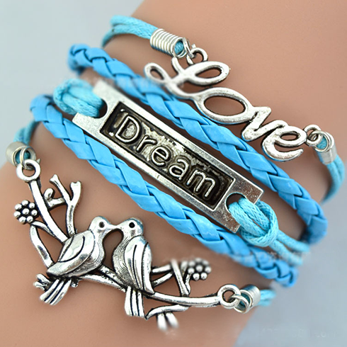 Infinite Love: Dare to Dream Charm Bracelet