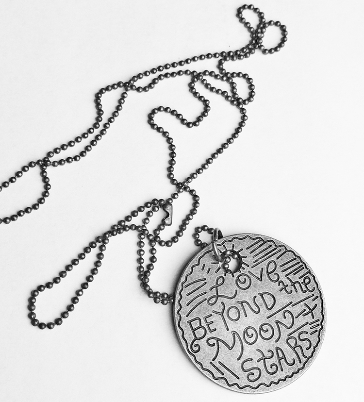 Love Beyond the Moon and Stars Necklace