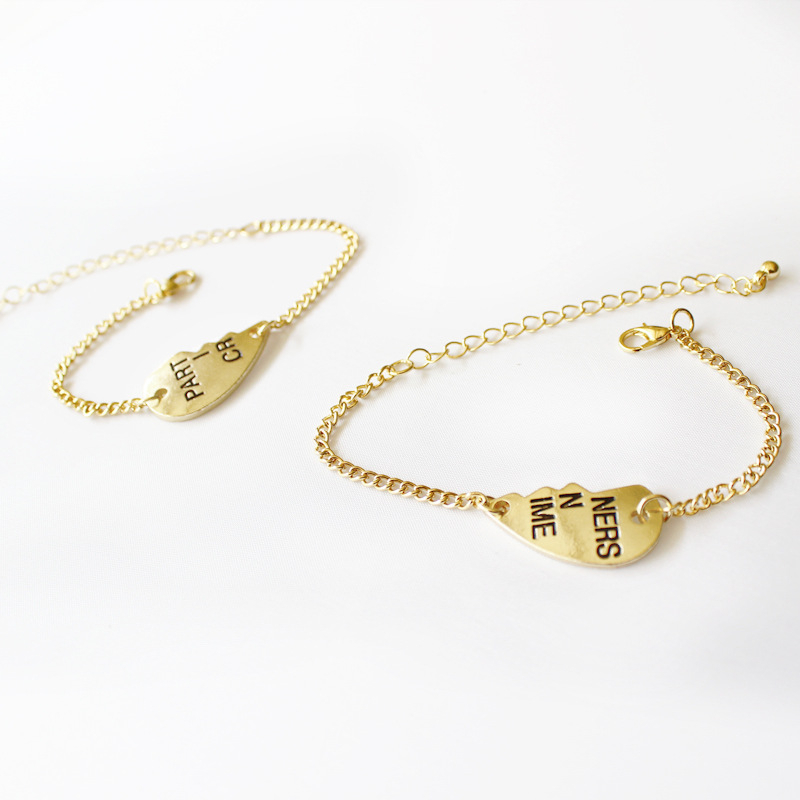 Partners in Crime Gold Bracelet